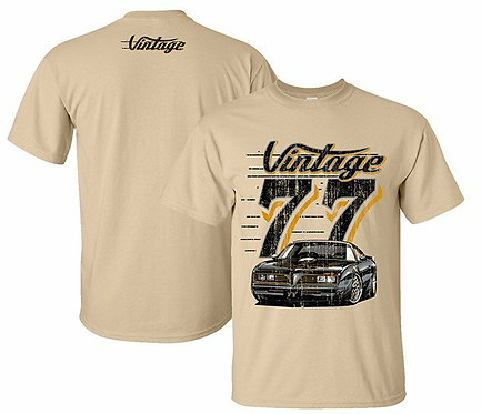 Vintage 77 Trans Am Tshirt (VIN-015)