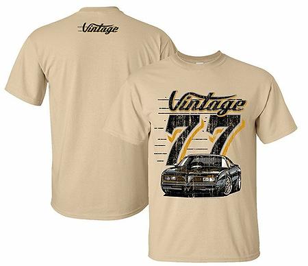 Vintage 77 Trans Am Tshirt (VIN-015R)