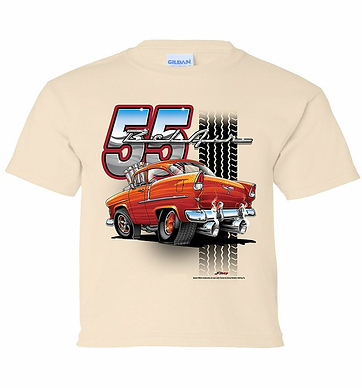 Youth 55 Bel Air Tooned Up Tshirt (TDC-219Y)