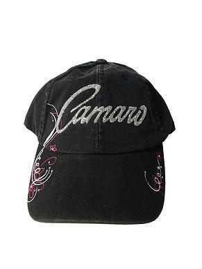 Ladies Black Camaro Cap (CAP-126B)