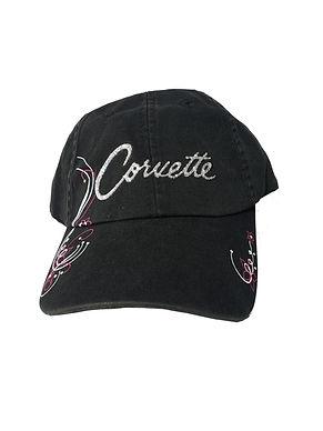 Ladies Black Corvette Cap (CAP-127B)