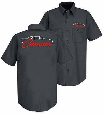1st Gen Camaro Silhouette EMB Mech Tshirt (MS-100)
