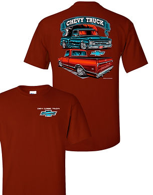 Chevy Classic Truck (TDC-266)