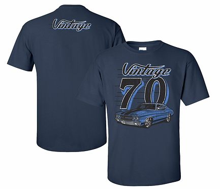 Vintage 70 Chevelle Tshirt (VIN-003)