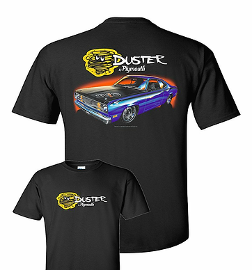 72 Plymouth Duster T-Shirt (TDC-216R)