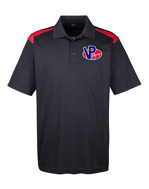 VP Racing Fuels Two Tone Embroidered Polo Shirt (VP-006R)