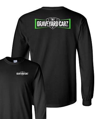 Graveyard Carz Logo Long Sleeve T-shirt (GYC-014R)