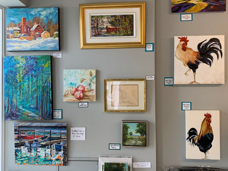 """Welcome To Our """"Wee Gallery"""""""