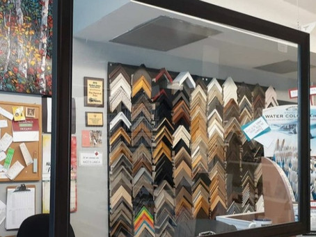 Custom Framing in Downtown Cobourg