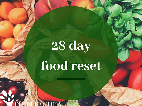 28 day food RESET