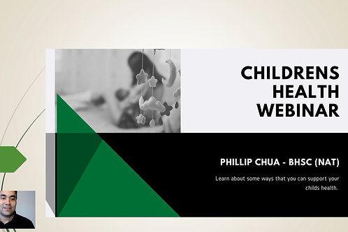 Childrens health webinar