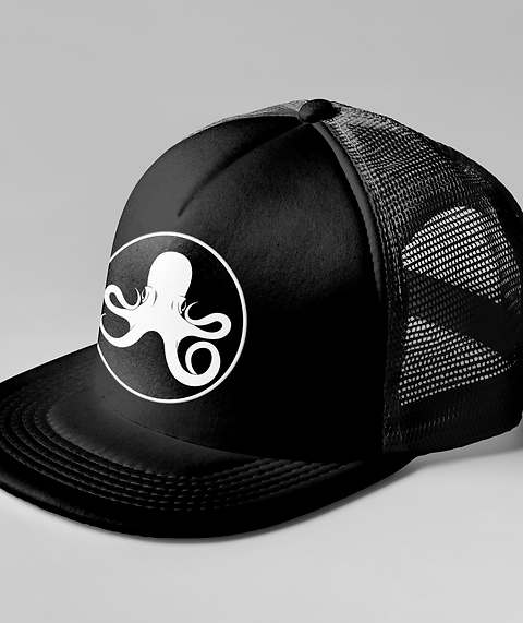 Oceanic Black Trucker