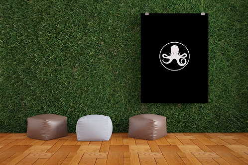 Oceanic Logo Poster