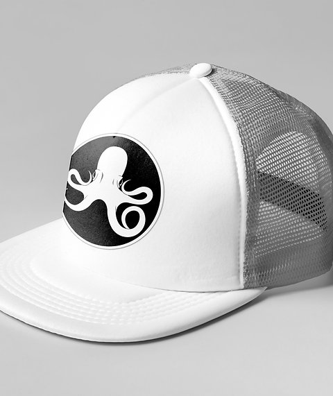 Oceanic White Trucker