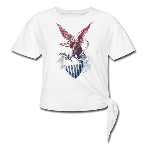 US Eagle Damen Shirt Bauch frei