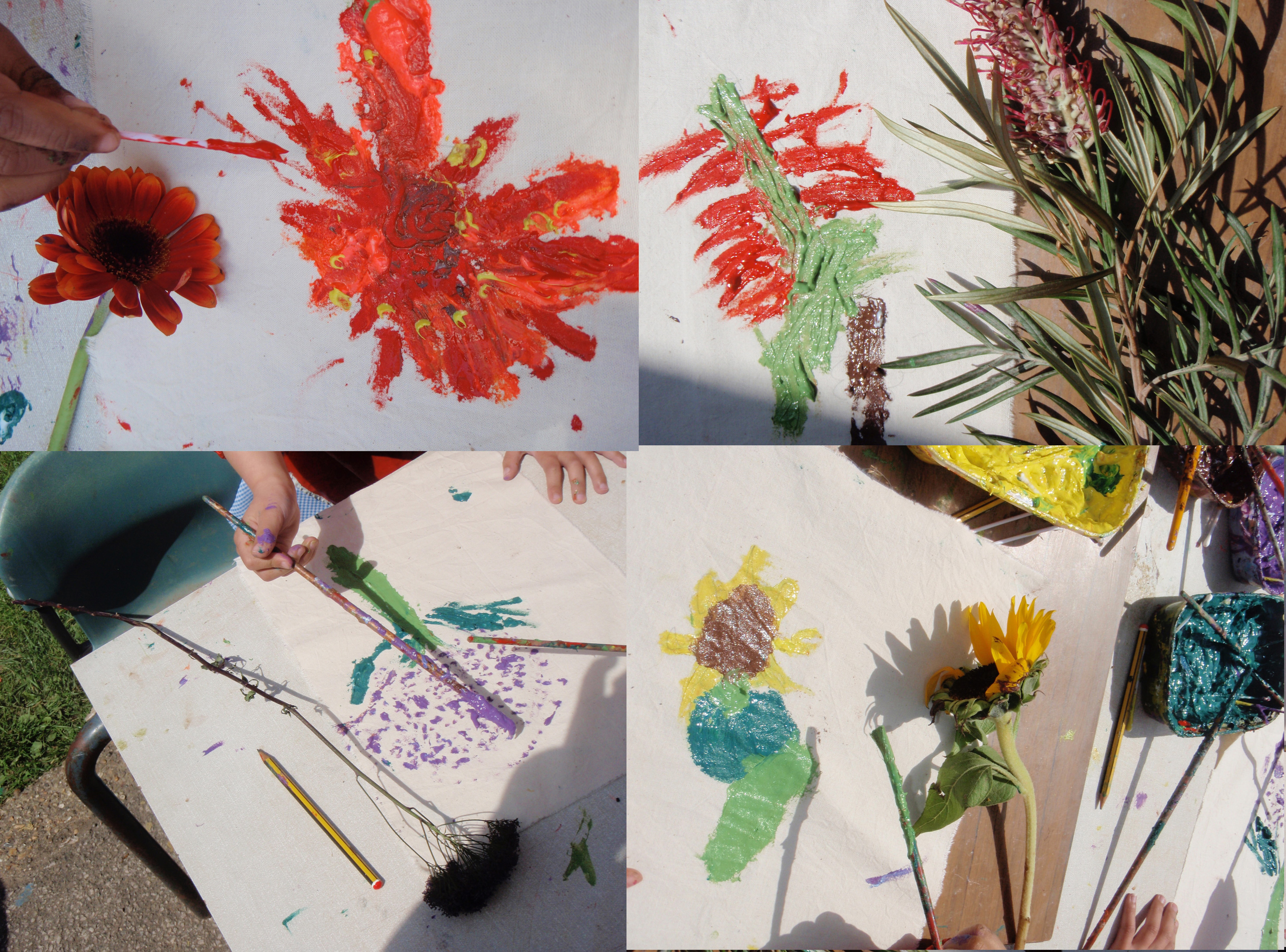 Flower Painting from Life