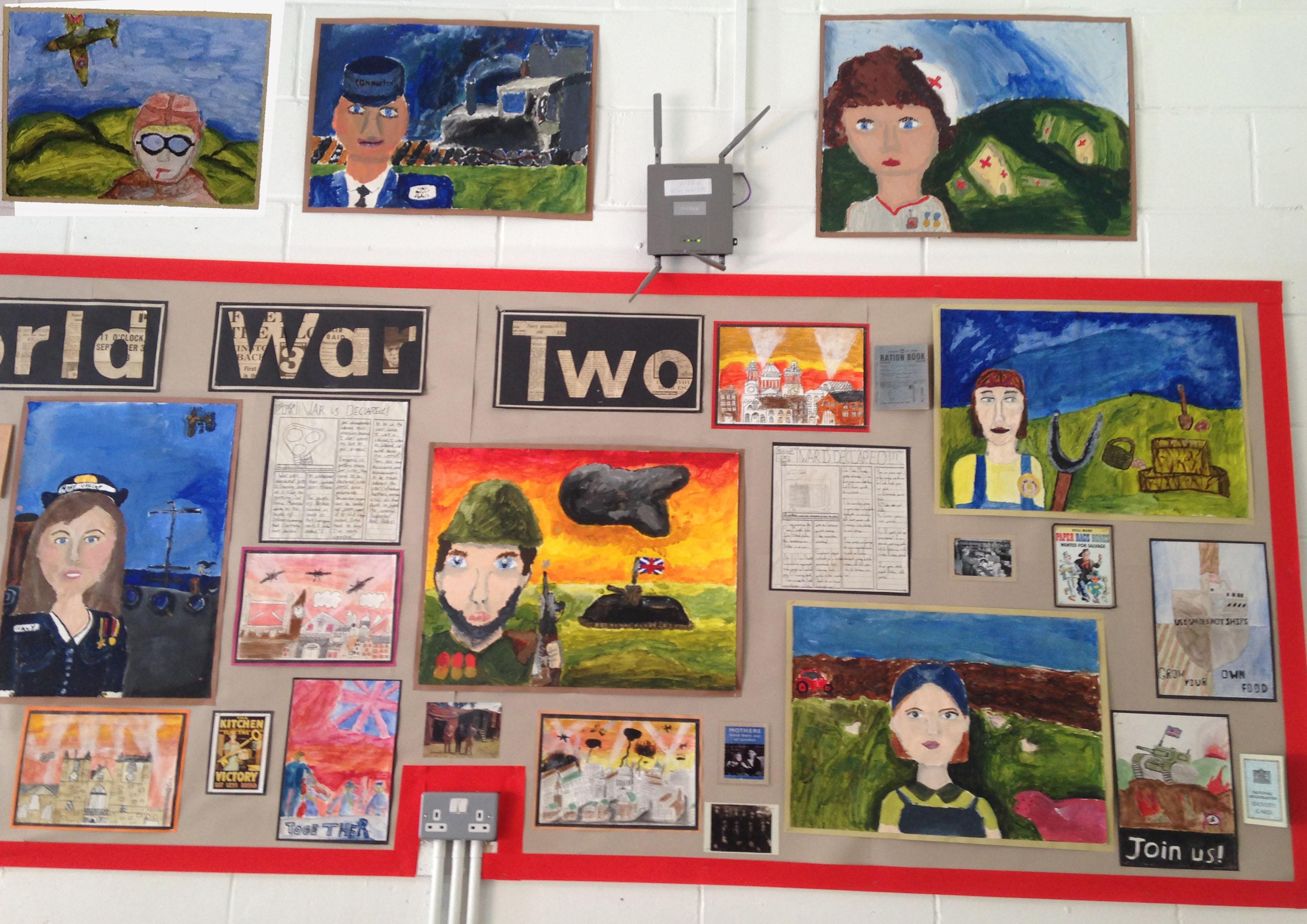 World War 2 Portraits