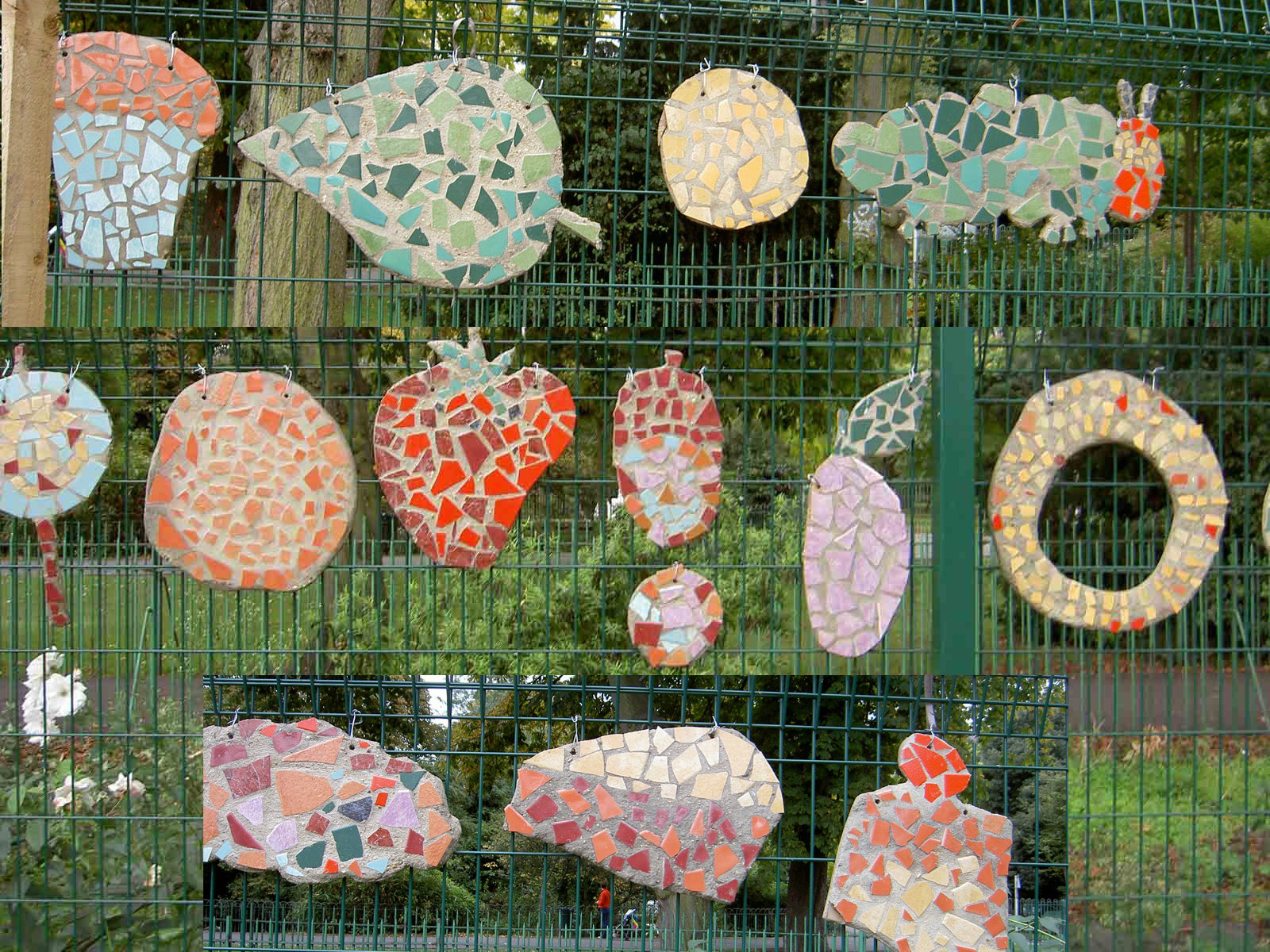 Hungry Caterpillar Mosaics