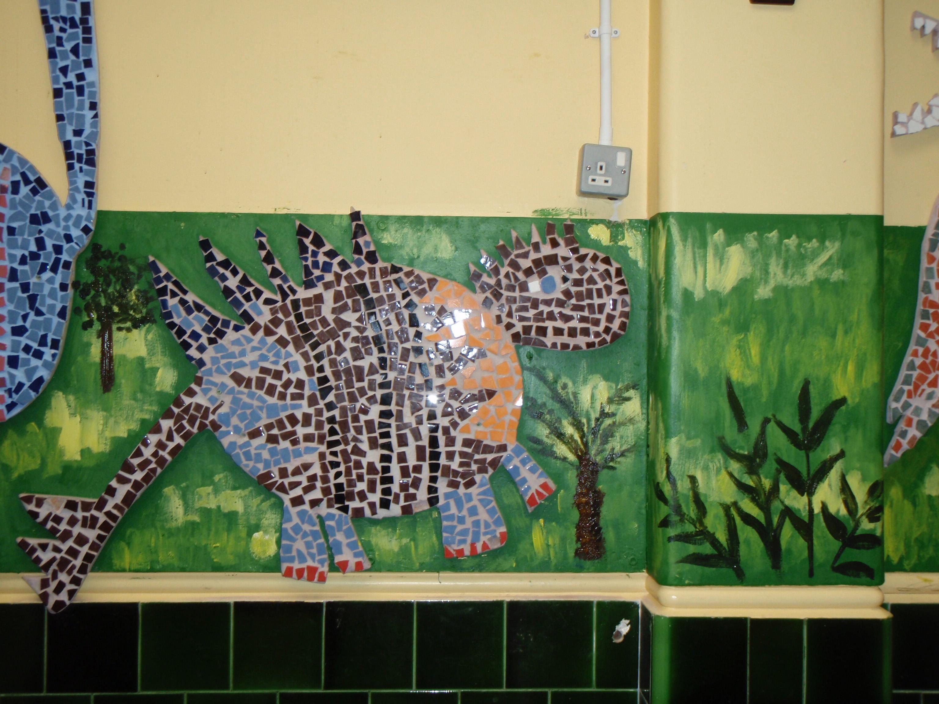Dinosaur Mosaics