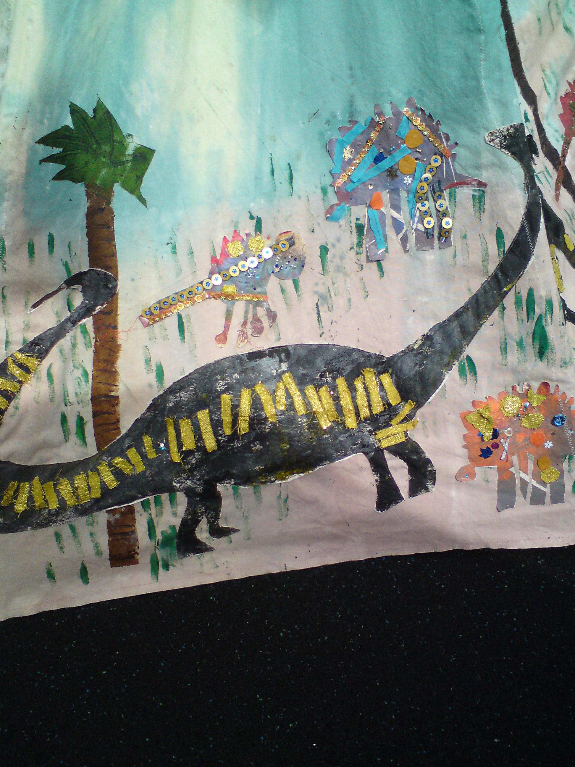 Dinosaur Teepee