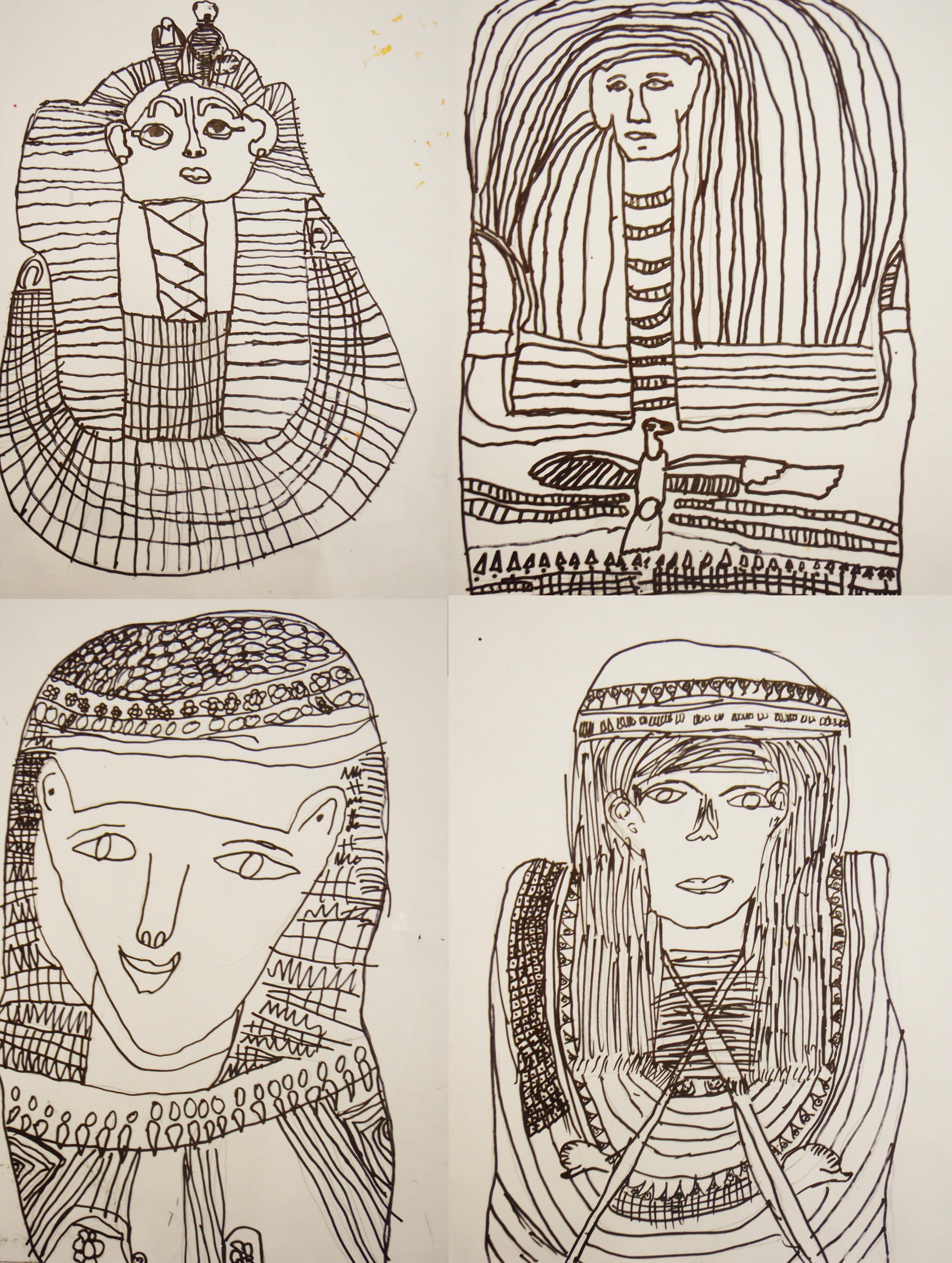 Egyptian Heads