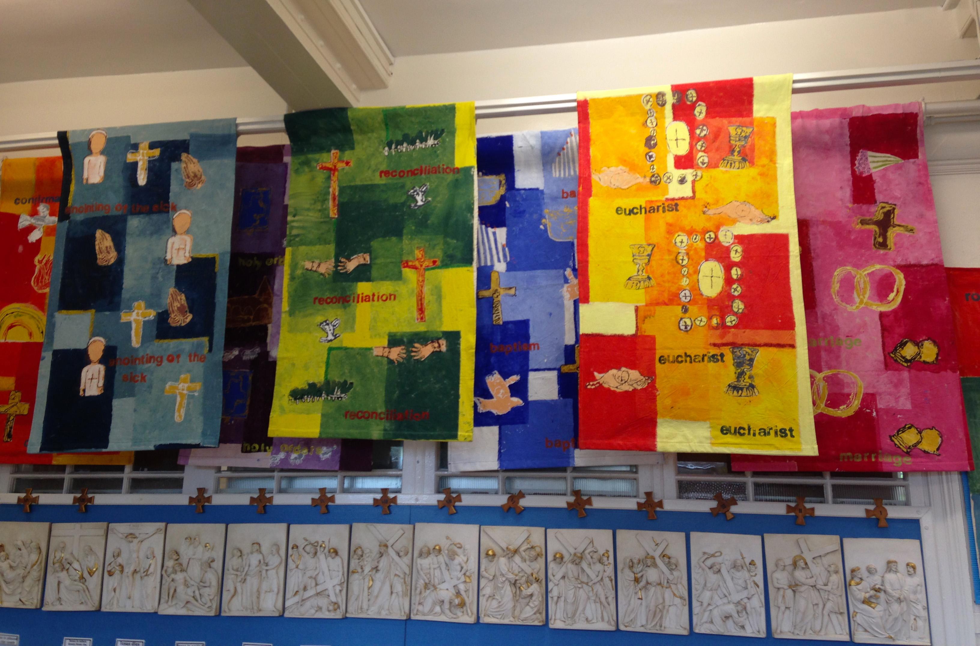 7 Sacrements - Wall Hangings