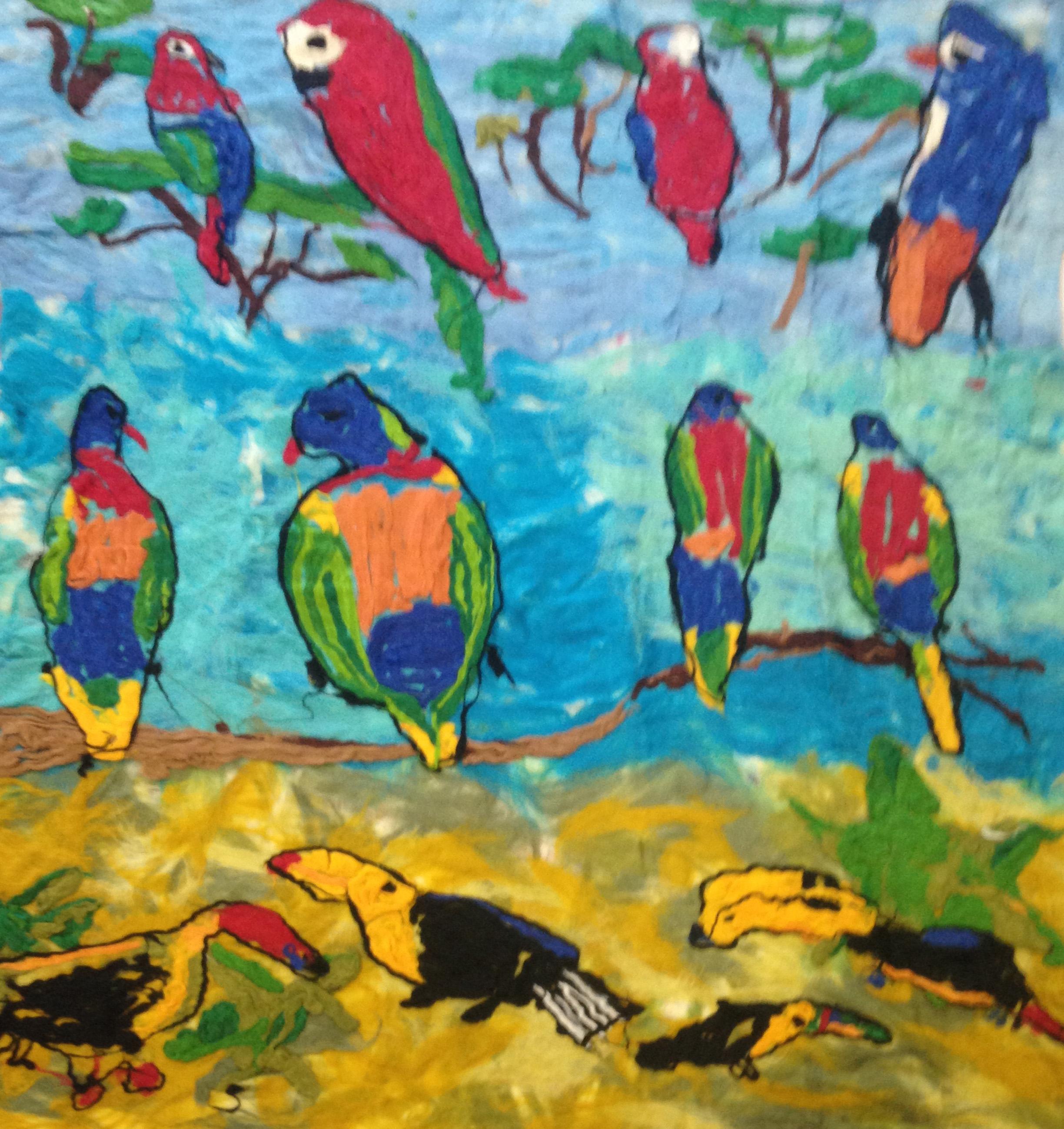 Bird Felts