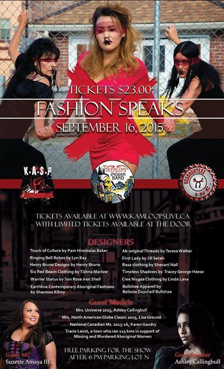 Facebook - #KAMLOOPS Honoured To MC This Amazing Event FASHION SPEAKS COUTURE FA
