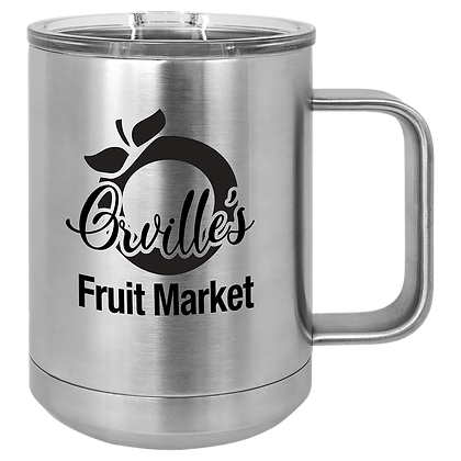 15 oz Insulated Mug with Lid