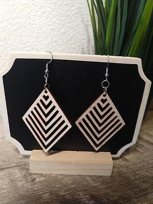 Diamonds Birchwood Earrings