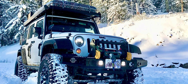 NWOL Jeep JK Overlanding in the Snow in Wenatchee Washington
