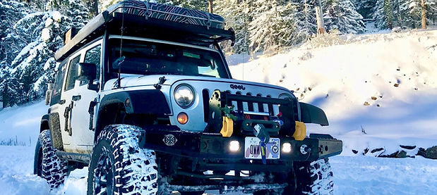 NWOL Jeep JK Overlanding in the Snow in Wenatchee Washington