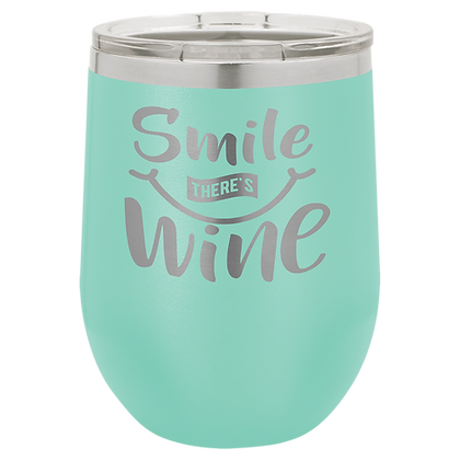 copy of 12 oz Stemless Wine Tumbler with Lid