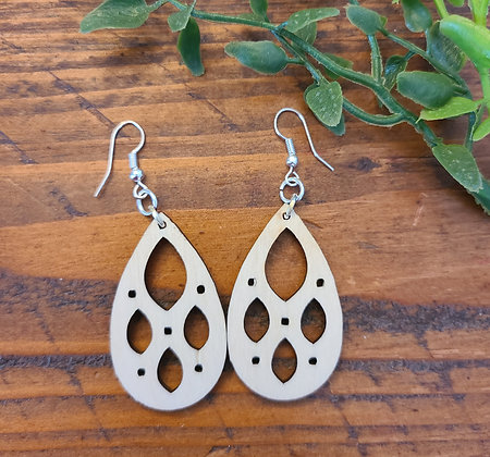 Crystal - Birchwood Earrings