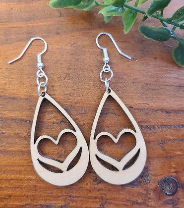 Love - Birchwood Earrings