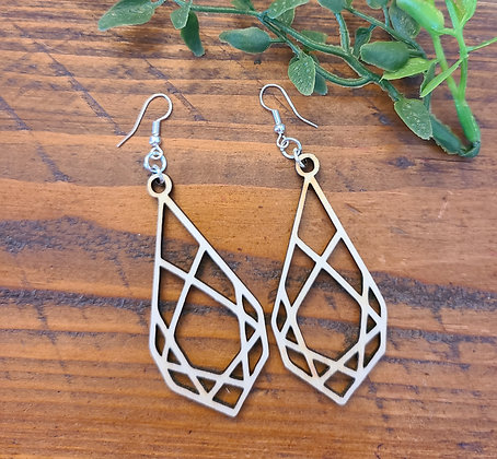 Nikki - Birchwood Earrings