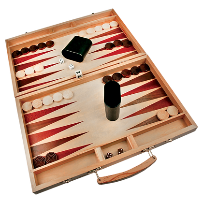 Wood Backgammon Set