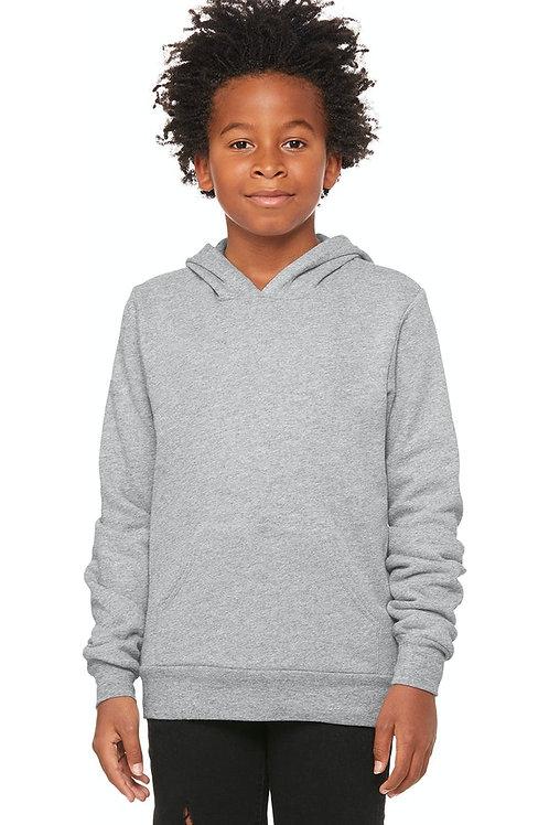 Youth Unisex Fleece Pullover Hooded Sweatshirt