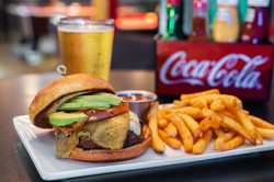 Green Chili Burger