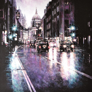 Fleet Street at Night