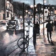 Rainy night in Kensington