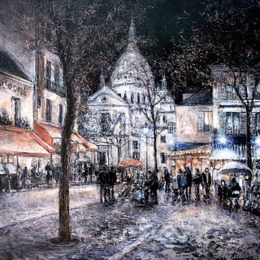 Night in Montmartre