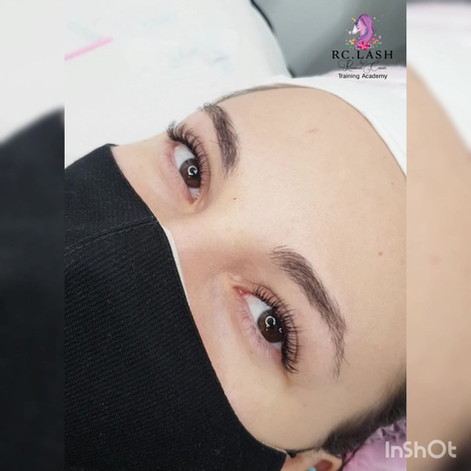 Cashmere Individual Eyelash Extensions | RC.LASH Training Academy| Lashes & Brows City of London