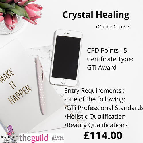 Crystal Healing GTi | Online Course