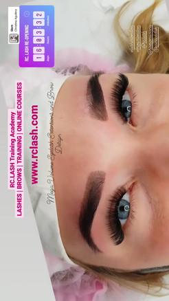 Mega volume Eyelash Extensions London, 10D Eyelash Extensions, RC.LASH Training Academy London