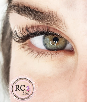 Natural Set Individual Eyelash Extensions, 90 lashes/eye