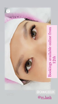 Russian Volume Eyelash Extensions| RC.LASH Trainin Academy| Lashes & Brows City of London