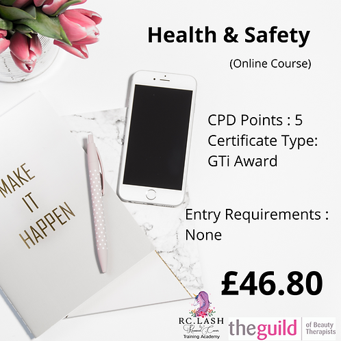 Health & Safety Online Course