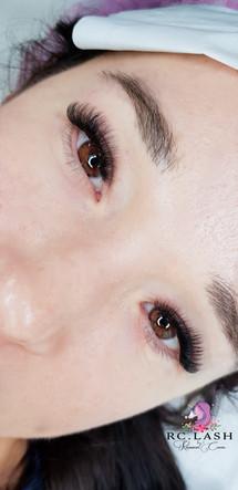 Russian Volume Natural Eyelash Extensions Bank London