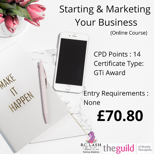 Starting And Marketing Your Business